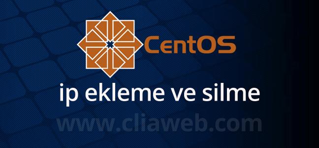 centos-ip-ekleme