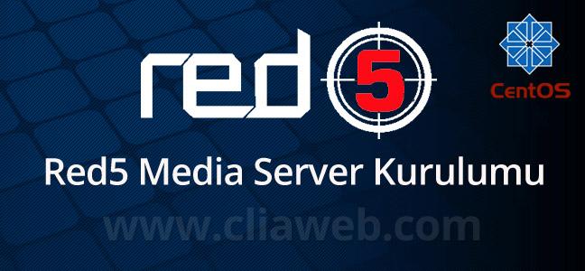 centos-red5-media-server-kurulumu