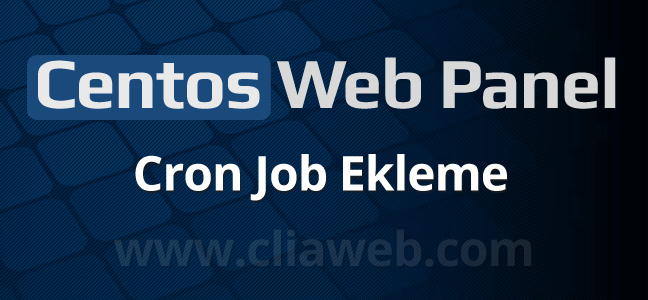 centos-web-panel-cron-job-ekleme