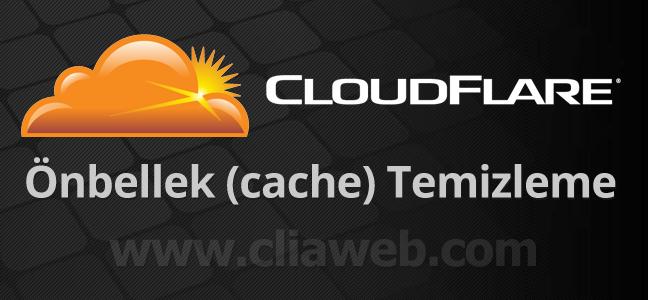 cloudflare-cache-temizleme