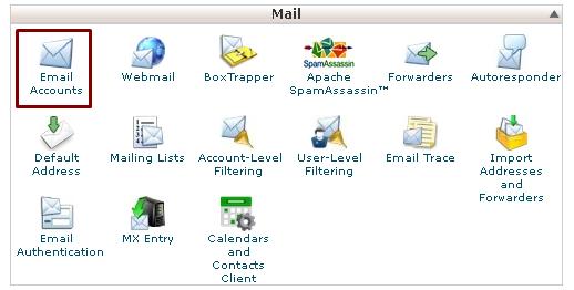 cpanel-default-email-hesabi-silme