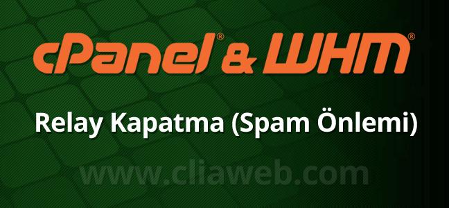 cpanel-relay-kapatma-spam-engelleme