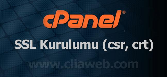 cpanel-ssl-kurulumu