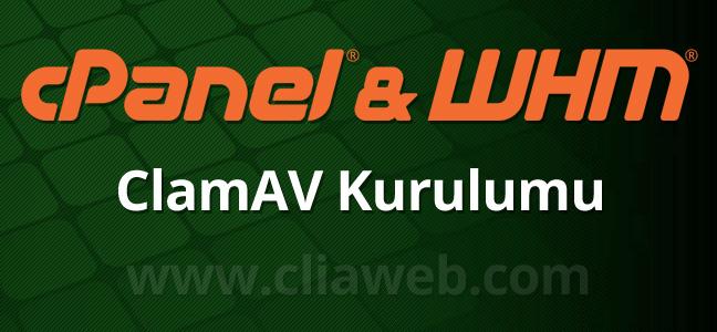 cpanel-whm-clamav-antivirus-kurulumu