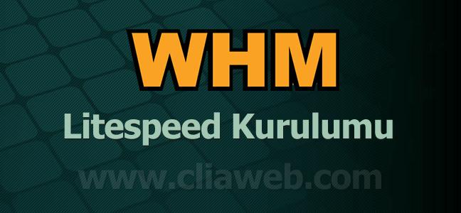 cpanel-whm-litespeed-kurulumu