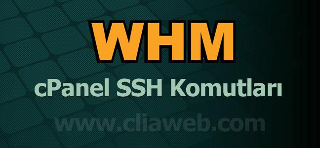 cpanel-whm-ssh-komutlari