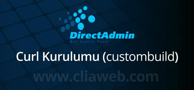 directadmin-curl-kurulumu