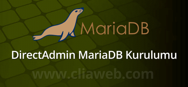 directadmin-mariadb-kurulumu