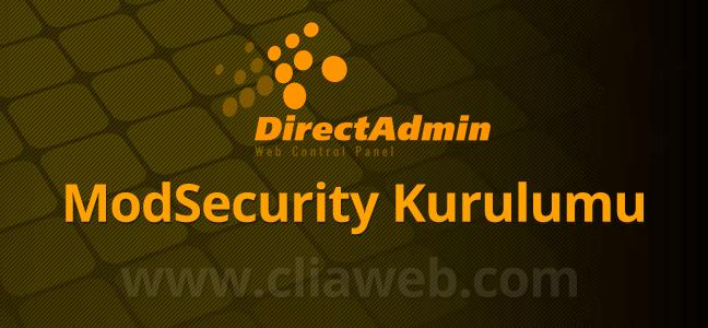 directadmin-modsecurity-kurulumu