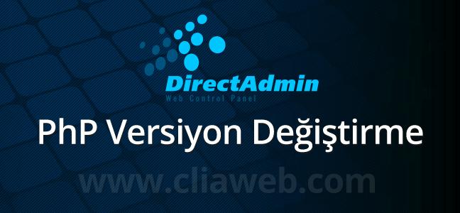 directadmin-php-versiyon-degistirme