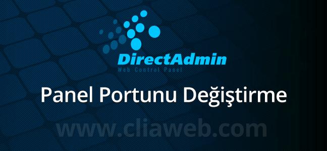 directadmin-port-degistirme