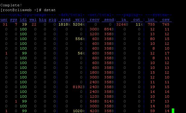 dstat-linux-performans-izleme-kurulumu