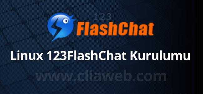 linux-123flashchat-kurulumu