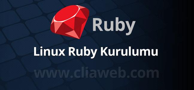 linux-ruby-kurulumu