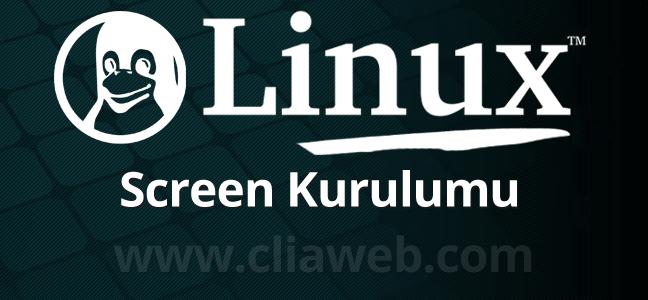 linux-screen-komutu