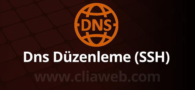 linux-ssh-dns-duzenleme