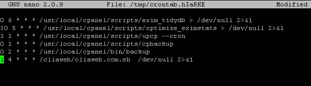 linux-varsayilan-editor-degistirme-crontab-duzenlenmiyor
