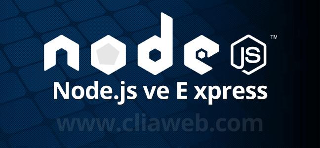 node-js-npm-express-kurulumu