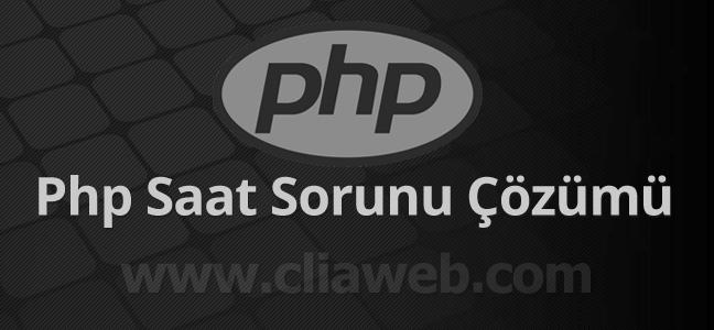 php-saat-sorunu-cozumu