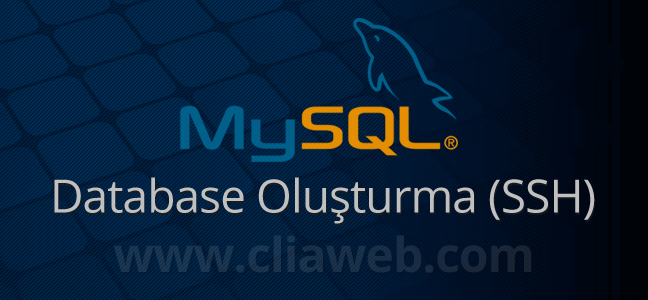 ssh-database-olusturma-silme