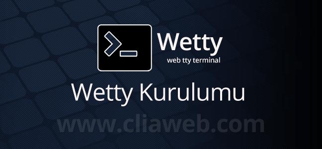 wetty-web-terminal-kurulumu