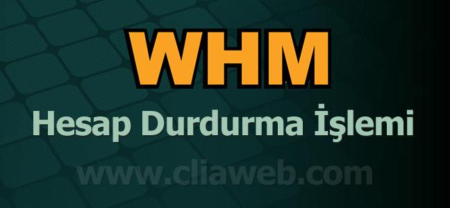 whm-site-durdurma