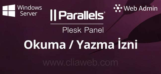 windows-server-plesk-panel-okuma-yazma-izni-verme